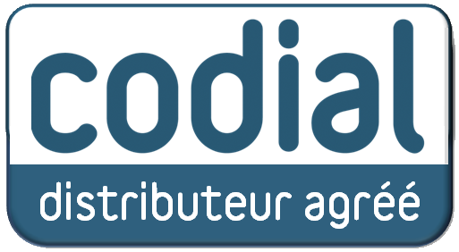 logo distributeur agree CODIAL